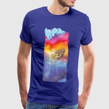 pool skötare - Premium-T-shirt herr