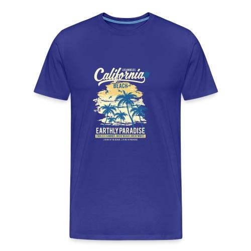 California Beach classic - Men's Premium T-Shirt
