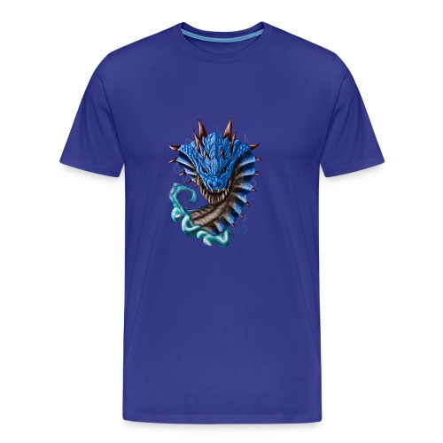 Monster Hunter-Lagiacrus - Men's Premium T-Shirt