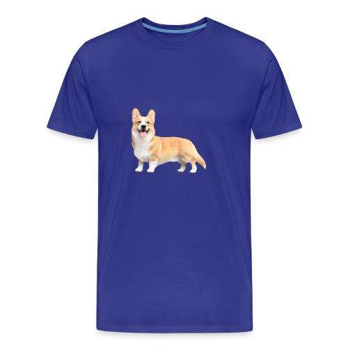 Topi the Corgi - Sideview - Men's Premium T-Shirt