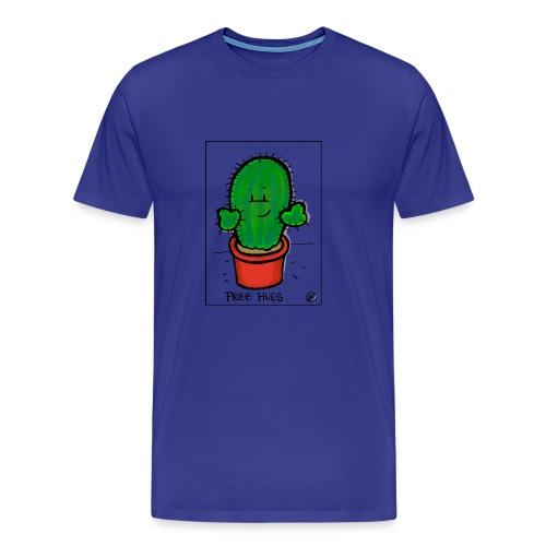 Mit freundlichem Gruß vom Kaktus - Männer Premium T-Shirt