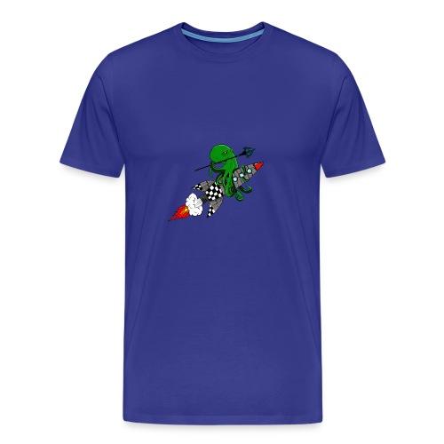 inktvis strijder - Mannen Premium T-shirt