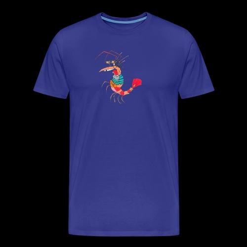 TheMightyShrimp - Herre premium T-shirt