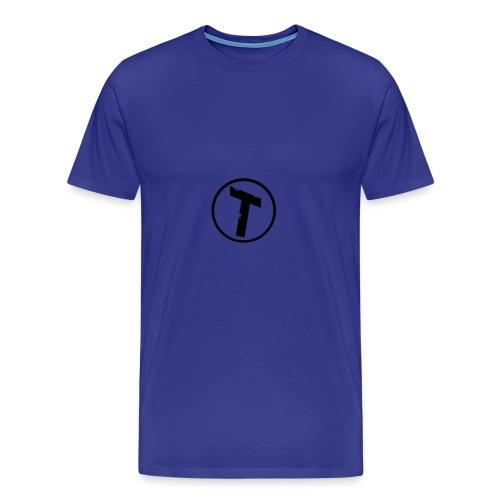 Sød plys hare med trøje - Herre premium T-shirt