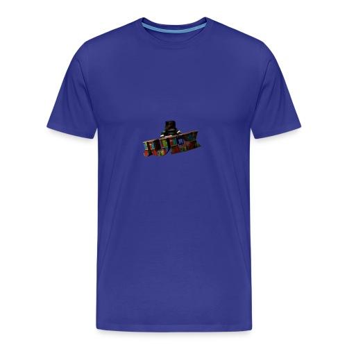 Ein Skinrender von dem YouTuer Julx - Männer Premium T-Shirt