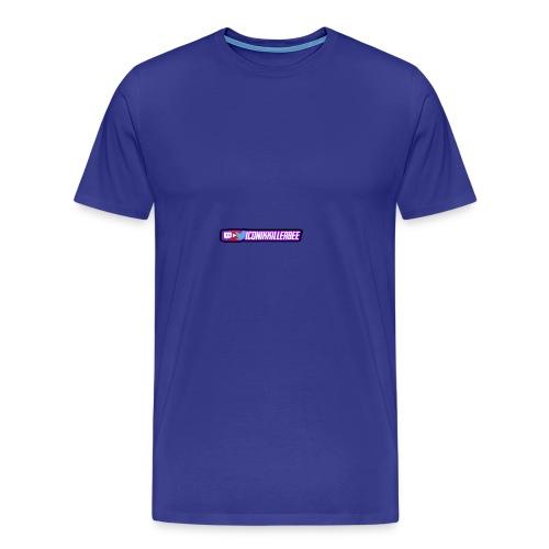 Social logo - Mannen Premium T-shirt