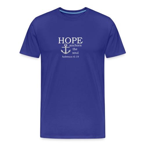 'HOPE' t-shirt (white) - Men's Premium T-Shirt