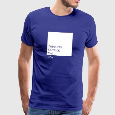 Thinking Outside The Box - Men's Premium T-Shirt