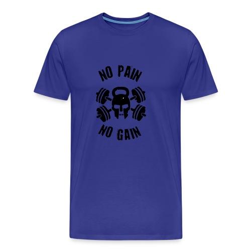 No Pain No gain - Maglietta Premium da uomo