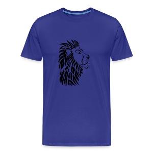 lion tribal shirt - Männer Premium T-Shirt