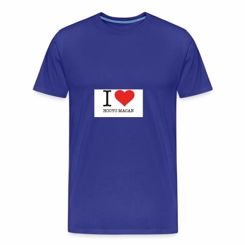I Love My Mum - Premium-T-shirt herr