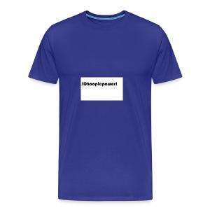 Dhoopiepowers - Mannen Premium T-shirt