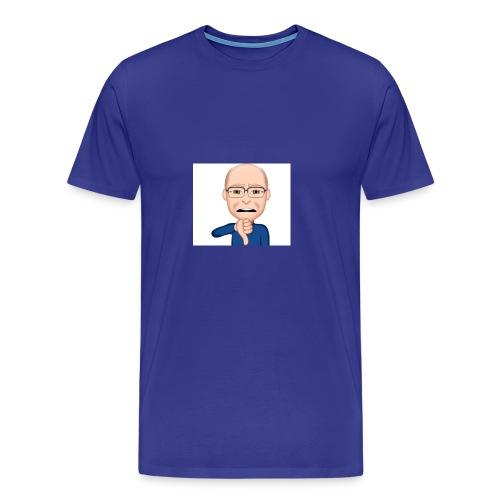 "Smiley ""Katastrophe"" - Männer Premium T-Shirt"