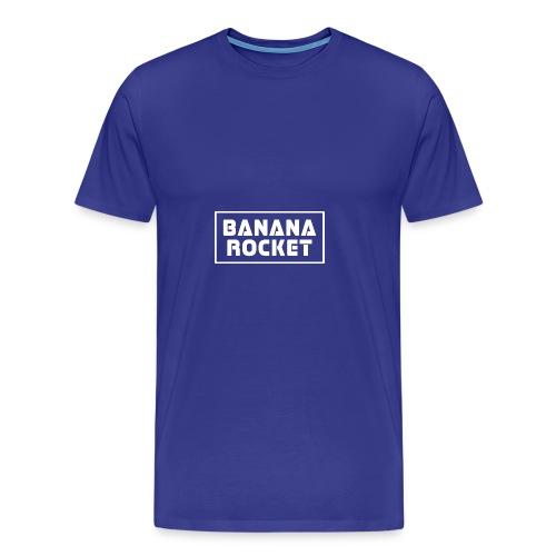 Banana Rocket Classic Woman - Maglietta Premium da uomo