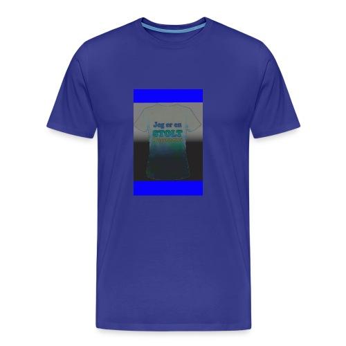 Korpsforeldre - Premium T-skjorte for menn