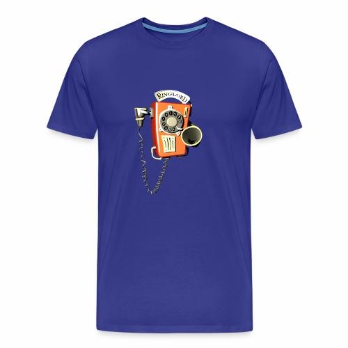 Ringlord Telefon Wandtelefon - Männer Premium T-Shirt