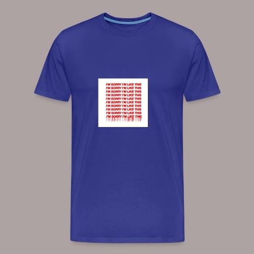 13C670EF F2DE 4BDE A195 F0B0CFF4352F - Männer Premium T-Shirt