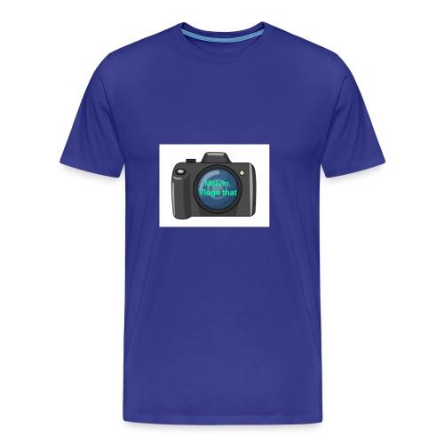Melvin vlogs that merch - Men's Premium T-Shirt