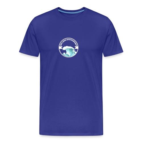 New Wave Entertainment Logo T-Shirt [Support Us] - Men's Premium T-Shirt