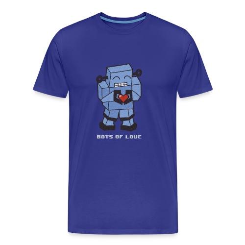 Bots of love grunge - Men's Premium T-Shirt