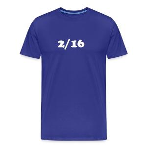 2/16 - Miesten premium t-paita