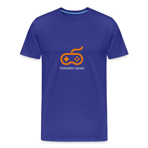 Logo with White Text - Men's Premium T-Shirt