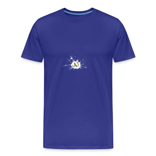 logo2 6 pinkki - Miesten premium t-paita