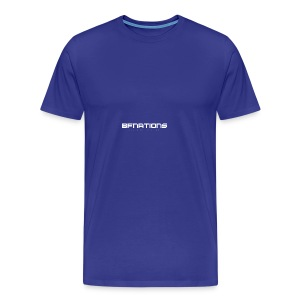 BFNations Logo - Premium-T-shirt herr