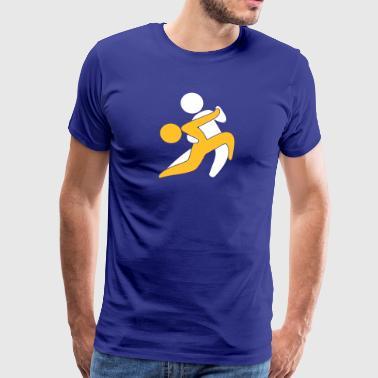 Tango dansere - Herre premium T-shirt