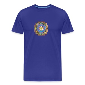 buddhist mandala - Men's Premium T-Shirt