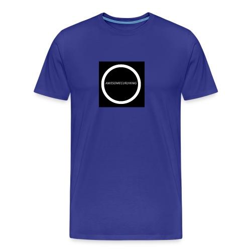 AwesomeCurlyMerch - Men's Premium T-Shirt