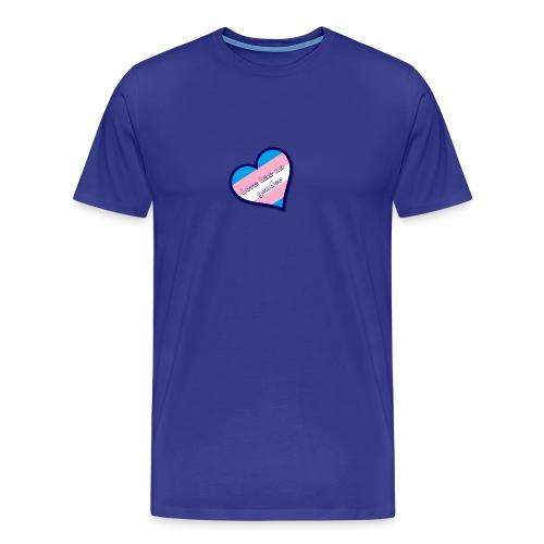 Love has no gender - Mannen Premium T-shirt
