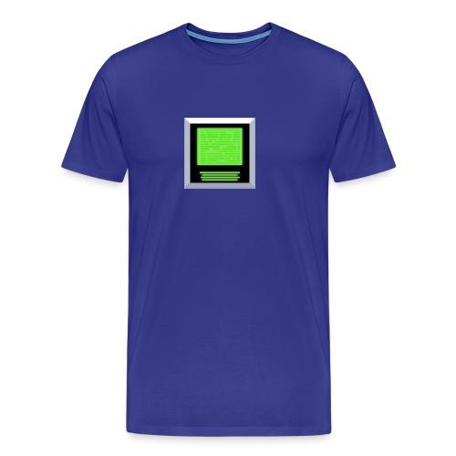 Green Screen of Pixel - Männer Premium T-Shirt