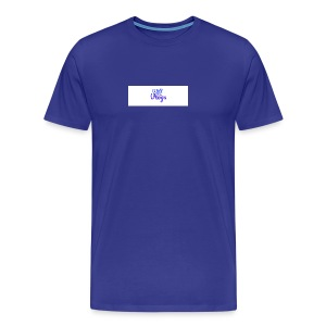 Will Has Vlogs Fancy Text - Men's Premium T-Shirt