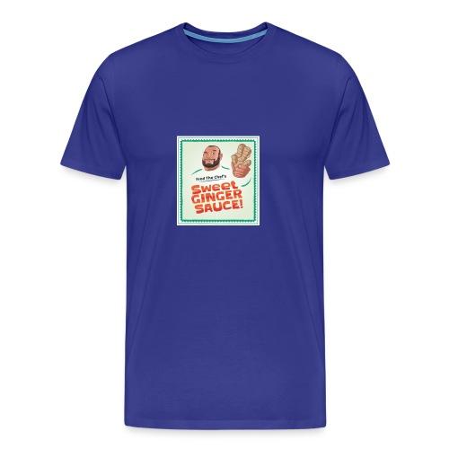 Fred The Chef's Sweet Ginger Sauce - Premium T-skjorte for menn