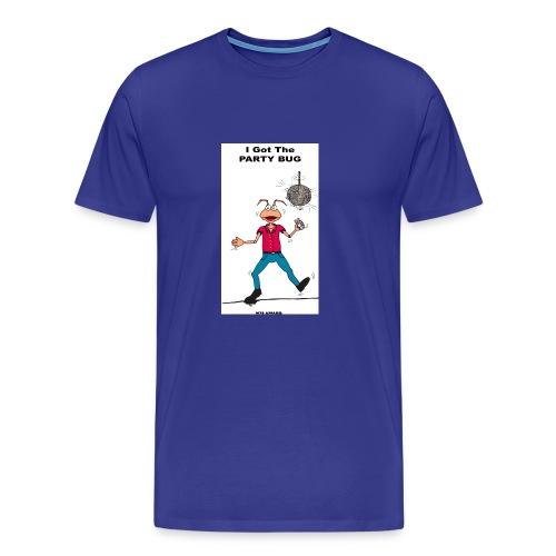 BACK PARTY BUG COL - Men's Premium T-Shirt