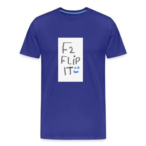 F2 FLIP IT - Men's Premium T-Shirt