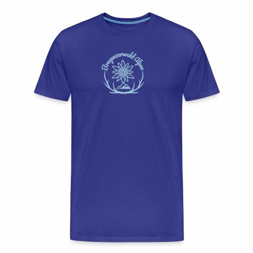 Bregenzerwald Alpen - Mannen Premium T-shirt