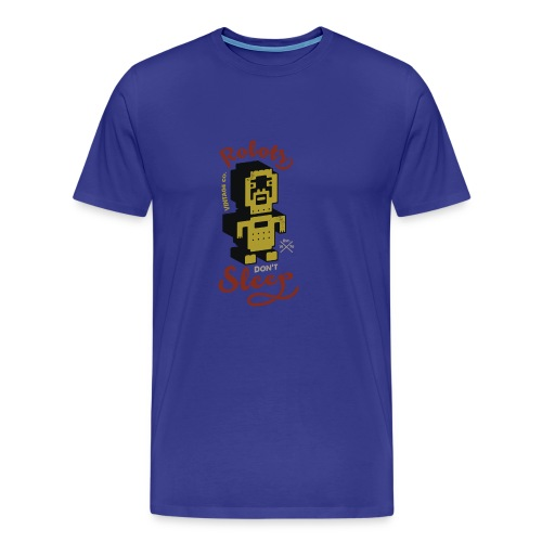 Vintage Robots - Camiseta premium hombre