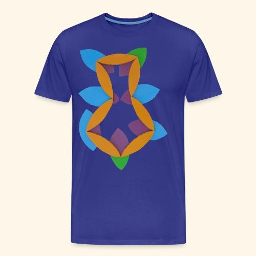 oranjeblanjebleu - Mannen Premium T-shirt