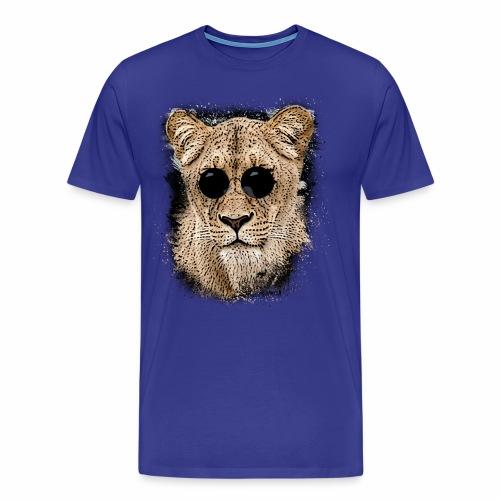 Mega coole Löwin - Männer Premium T-Shirt
