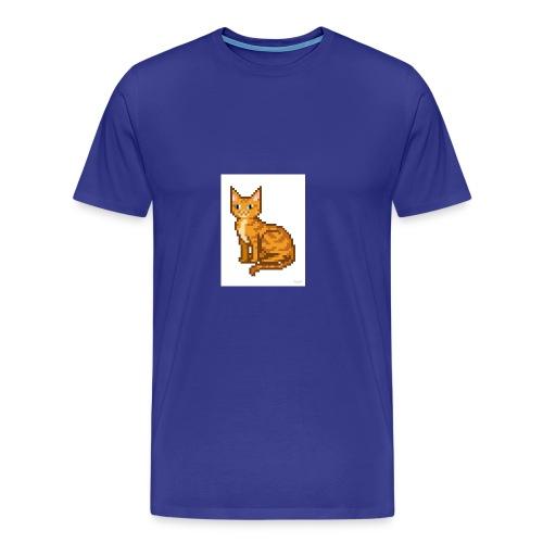 logo pixel gamer123 - Men's Premium T-Shirt