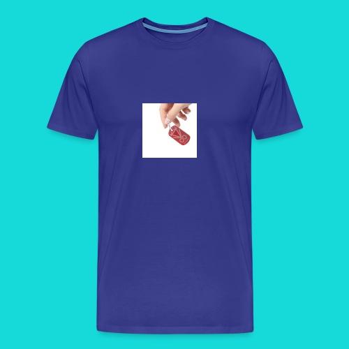 Diamant-RED DOG-TAG - Männer Premium T-Shirt