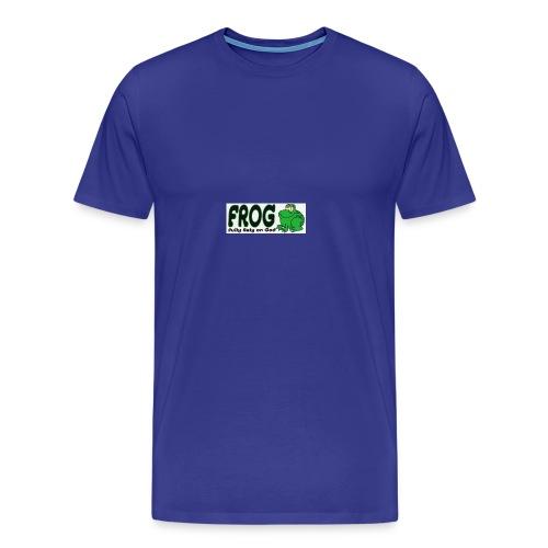 FROG - Mannen Premium T-shirt