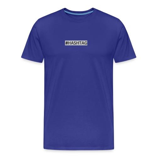 Hashtag - Premium T-skjorte for menn
