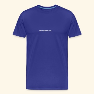 wanderness_white - Männer Premium T-Shirt