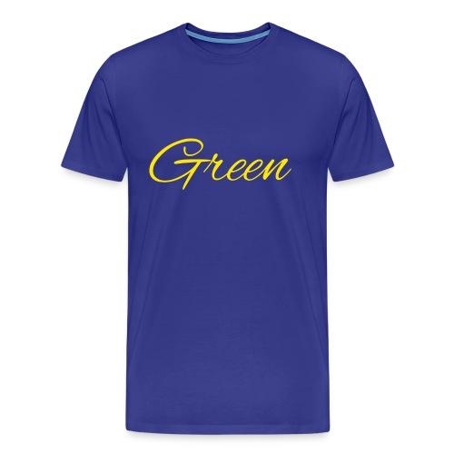 Green - Mannen Premium T-shirt