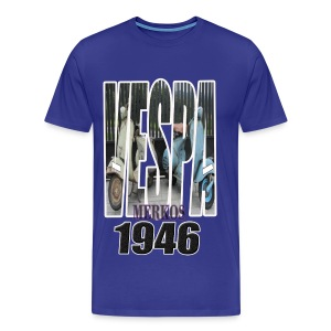 VESPA MERKOS - Camiseta premium hombre