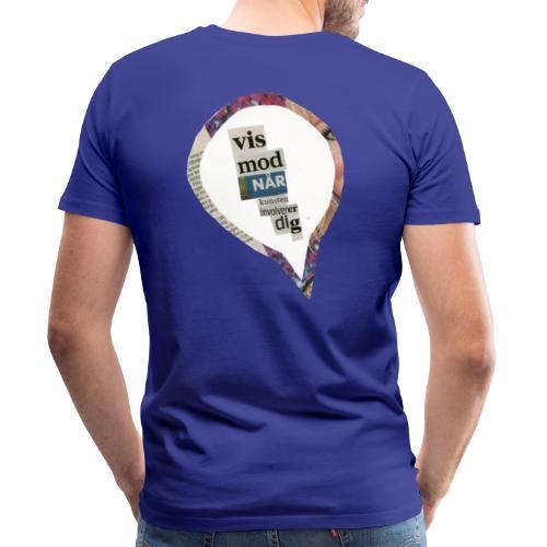 VisModNårKunstenInvolvererDig - Herre premium T-shirt
