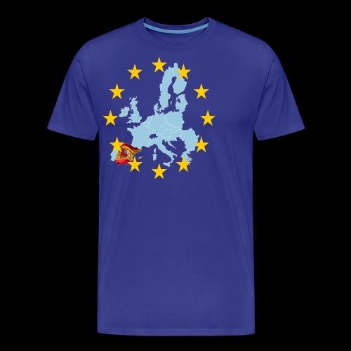 EU Spain (Europa Spanien) - Männer Premium T-Shirt